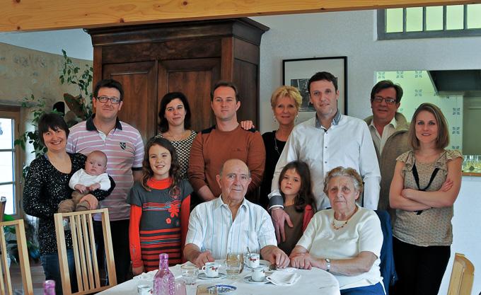 Un repas de famille qui restera dans les souvenirs de tous