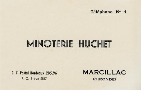 Installation du premier téléphone à Marcillac avec attribution du n°1