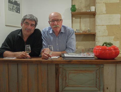 Patrice Drevet et François Huchet