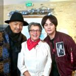 Xu Zheng, Joëlle et Yin Zheng
